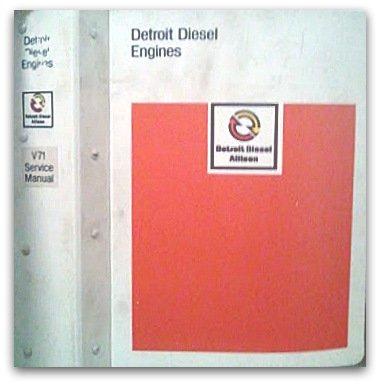 Detroit Diesel Series V-71 Engine Service Manual (1980) (Detroit Diesel Service Manual compare prices)