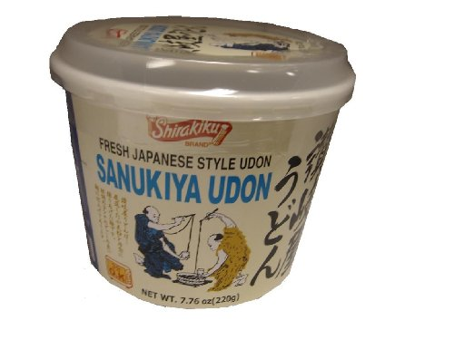 Shirakiku Udon Cup Nama Sanukiya, 7.76-Ounce Units (Pack of 12)