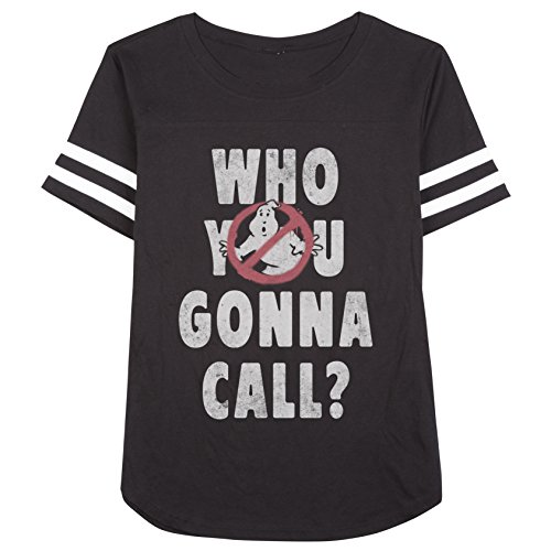 Official Ghostbusters Who You Gonna Call Juniors Soccer Shirt.