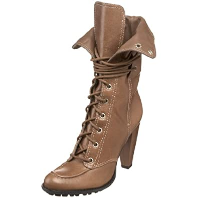 7 for All Mankind Women's Everly Boot,Taupe,6 M US