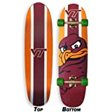 Virginia Tech Skateboard CRUISER Board COMPLETE SETUP Hokies Made In the USA by Broad Bay