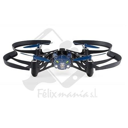 Mini Drone Parrot Airbone de Nuit Mc Clane Robot Volant Bleu/Gris 48/72H Felixmania® Livraison