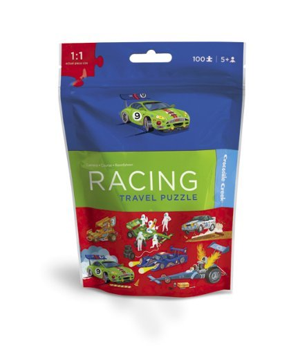 Crocodile Creek Travel Pouch Puzzle/Race Car
