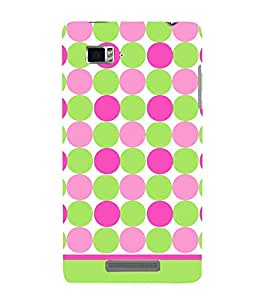 Dots Fashion Pattern 3D Hard Polycarbonate Designer Back Case Cover for Lenovo Vibe Z K910