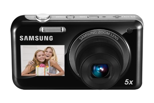 Samsung EC-PL120 Digital Camera with 14.2 MP and 5x Optical Zoom (Black)