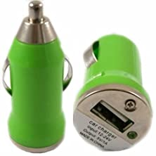 buy Bullet Usb In Car Charger Adapter Port For Htc Desire 820G+ Dual Sim - Green