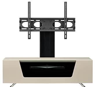 Buying Guide of  Alphason Chromium Ivory Cantilever TV Stand