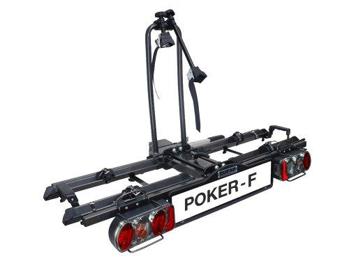 EUFAB-12010LAS-Fahrradtrger-Kupplungstrger-Poker-F-ehemals-Raven-klappbar-fr-2-Rder