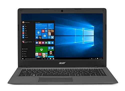 "Acer Aspire One Cloudbook AO1-431 Portatile, Display da 14"" HD, Processore Intel Celeron N3050 , RAM 2GB, HDD da 32GB eMMC, Grigio"