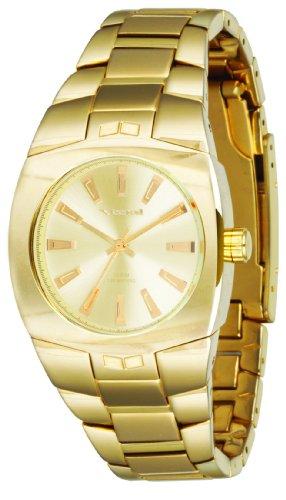 Vestal Women's MGH003 Mini Gearhead Polished Gold Watch