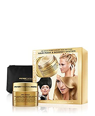PETER THOMAS ROTH - 24K Gold Pure Luxury Age-Defying Hair Mask And Bonnet System