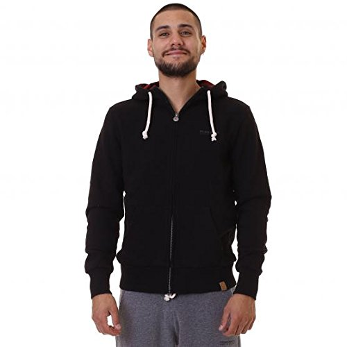 hoodie-check-flanelblack-woolrich-penn-rich-felpa-full-zip-nero-xxl-uomo