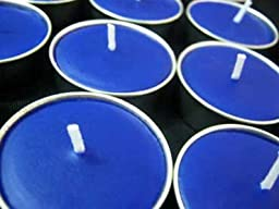 Butterfly Pea Scented Candles in an Aluminum Cup. 10 Pieces Per Pack