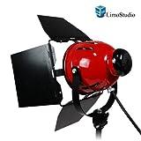 LimoStudio Professional Photo Video Studio 800W Continuous Barndoor Light Head Photography, AGG942