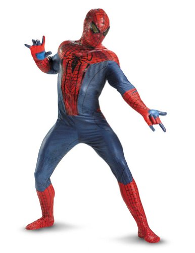 Spider-Man Movie Theatrical Adult Costume 50 Adult Mens Costume