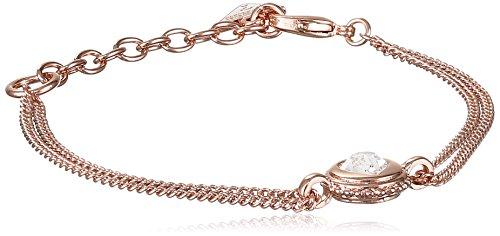 bracciale donna gioielli Guess Rose Gold casual cod. UBB21532-S