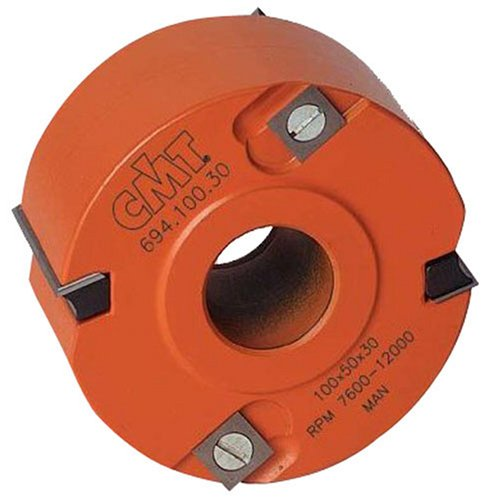 CMT 694.100.31 4-by-1-1/4-Inch Rabbeting Shaper Cutter Head