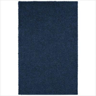 Affinity Navy Shag Rug Size: 8' x 10'