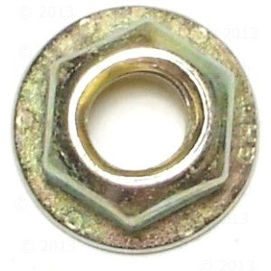 5/16-18 Grade 8 Hex Flange Nut (20 pieces)