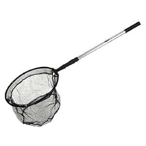 160cm 3 sections long telescopic handle fish for Long handle fishing net