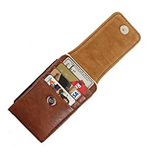DooDa PU Leather Pouch Case Cover With Magnetic Closure For Sony Xperia E4 Dual
