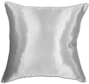 Large Silver Throw Pillow : Amazon.com - Artiwa 20