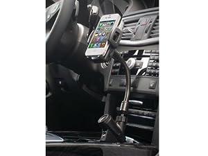 System-S Auto Kfz Halterung Halter Handyhalter Autohalterung mit Ladestation für Sony Ericsson Xperia Z1 Z Ultra Z SP L