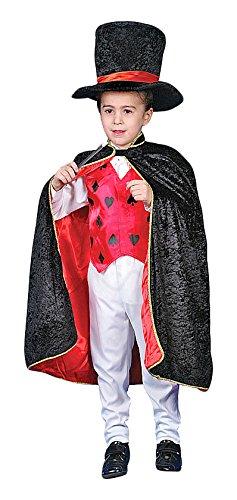 Dress Up America 232-T - Costume da Mago Deluxe, Bambini 3-4 Anni, Multicolore