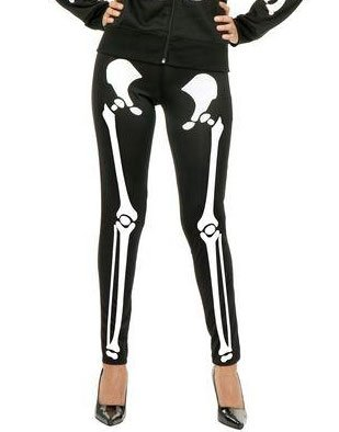 Charades Costumes - Skeleton Leggings Adult from Charades Costumes