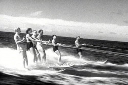 Water Sports & Outdoor Recreation Movie: Aqua Frolics DVD (1940s)