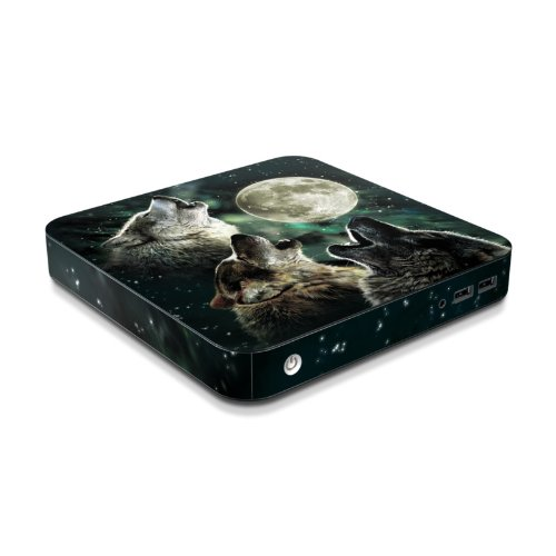 Three Wolf Moon Design Protective Decal Skin Sticker for Samsung Series 3 Chromebox XE300M22 Desktop Computer