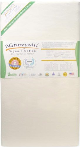 Naturepedic Organic Cotton Classic 150 Seamless in White