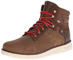 Merrell Men\'s Epiction Mid Waterproof Boot, Brown Sugar, 8.5 M US