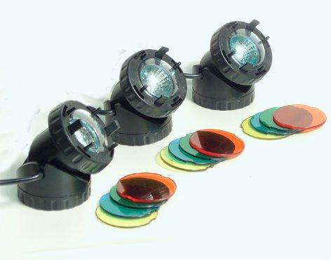 LED-Strahler-3er-Set