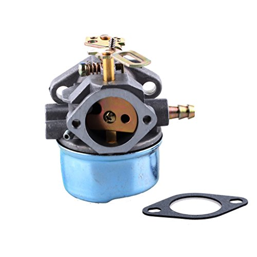 HIPA Carburetor Carb with Mounting Gasket for Tecumseh 640349 640052 640054 8hp 9hp 10hp HMSK80 HMSK85 HMSK90 HMSK100 HMSK105 LH318SA Snow Blower King Engine (Snowblower Carburetor Repair Kit compare prices)