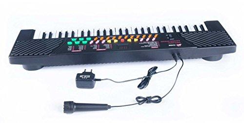 [해외]마이크 및 앰프와 54 키 아이 키즈 전자 음악 키보드 피아노 오르간 기록 재생; /54 Keys Children Kids Electronic Music Keyboard Piano Organ Records Playba