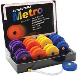 Tacony Retractable Metro Tape Measure 20 Piece Display-60