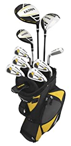 Wilson Sporting Goods Ultra Complete Package Golf Set by Wilson