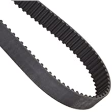 Goodyear Engineered Products Dual Hi-Performance Positive Drive Belt, Round Tooth Profile, 8mm Pitch, 8M Profile, Metric