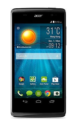 Acer Liquid Z500 Duo Smartphone débloqué (Ecran: 5 pouces) Noir/Anthracite (import Italie)