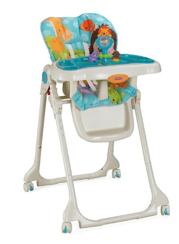 Deal Fisher-Price Precious Planet Sky Blue High Chair Reviews