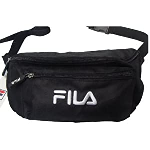 Fila Waist Pack / Bag, Bum Bag, Dark Blue or Black (Black)