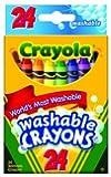 Crayola Washable Crayons, 24 count ( Case of 36 )