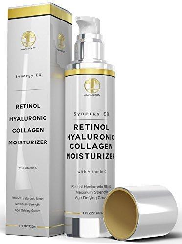 Crema Retinol Hidratante Anti-Envejecimiento De Potencia Maxima - Crema Reafirmante Para Piel Sensible - Tratamiento by Crema Retinol