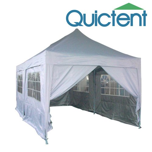 Quictent 20x10 EZ Set Pop Up Canopy Gazebo Party