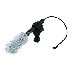 Sony ECM-CG50 Shotgun Microphone for NEX-VG10 and HDR-FX1000 - Black