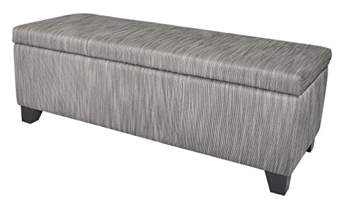 New Pacific Direct 194448-RFB Luisa Fabric Ottoman, 48