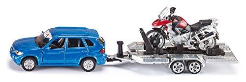 Siku-2547-Personenkraftwagen-mit-Anhnger-und-Motorrad