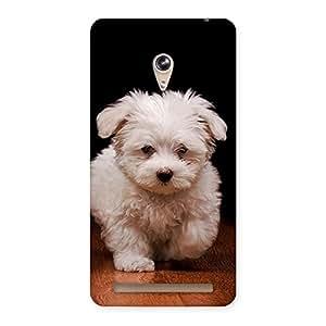 Cute Cute Walking Dog Back Case Cover for Zenfone 6