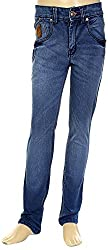 HAVOC Boys' 35077 Slim Fit Jeans (Blue, Size 36 - 11 to 12 Years)
